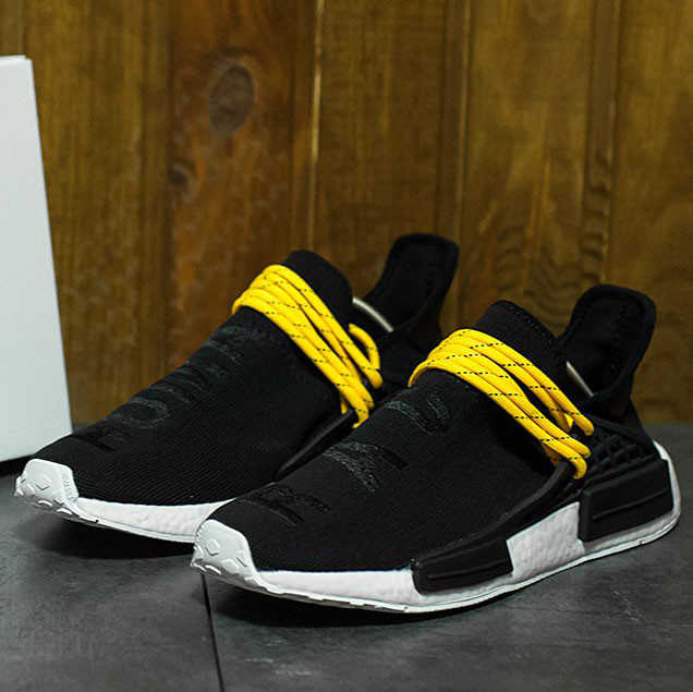 online store a76bb f24d3 Adidas NMD Pharrell Williams Human Race Black Yellow (реплика)