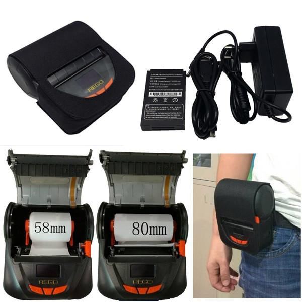 Synco SP-MPT-III Bluetooth принтер чеков мобильный до 80мм + чехол
