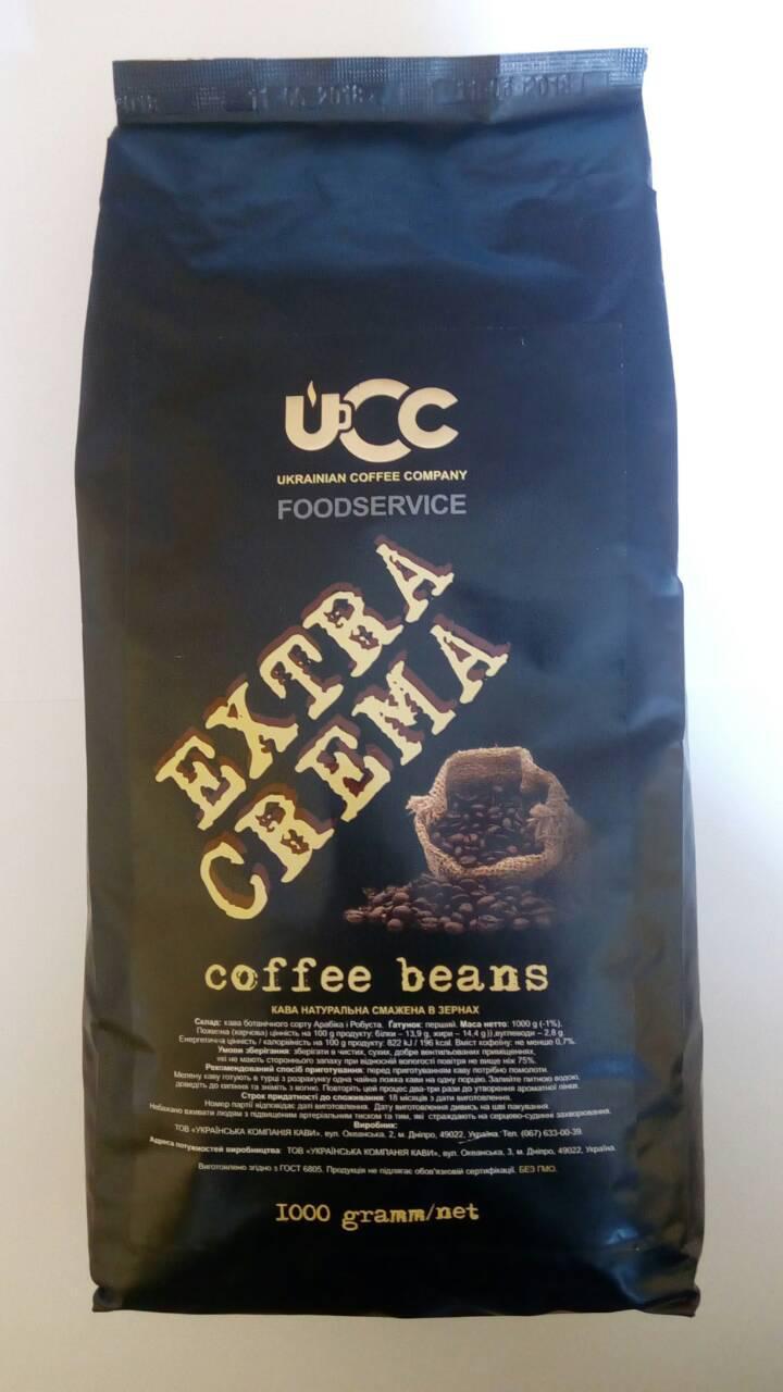 Кофе Galeador Extra Crema в зернах 1 кг