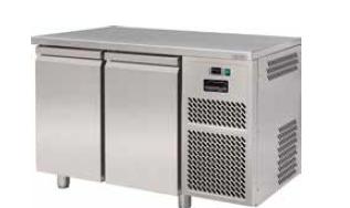 Стол холодильный FREEZERLINE ECT602 ,без борта, 2 двери
