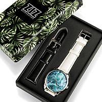 Подарок девушке парню часы в коробке наручные Океан, фото 1