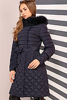 Теплое зимнее пальто с капюшоном Мирайн Нью Вери (Nui Very)