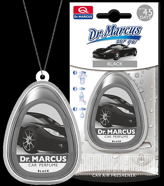 Ароматизатор чорна машина Dr Marcus Car Gel Black
