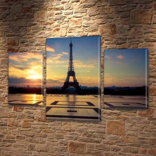 Купить картину модульные, на Холсте син., 45х70 см, (30x20-2/45x25)