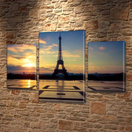 Купить картину модульные, на Холсте син., 45х70 см, (30x20-2/45x25), фото 2