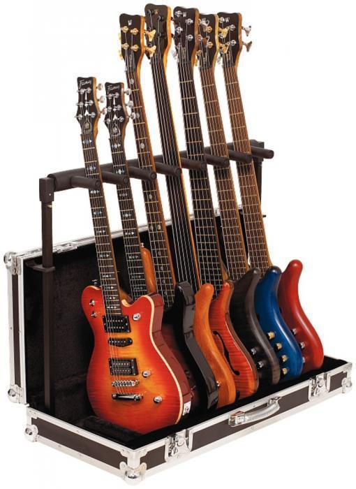 Стенд для 7-ми гітар ROCKSTAND RS20855 з кейсом
