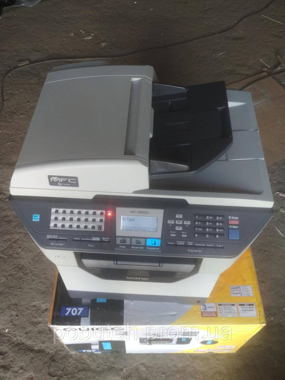 Лазерный принтер Brother MFC-8880DN