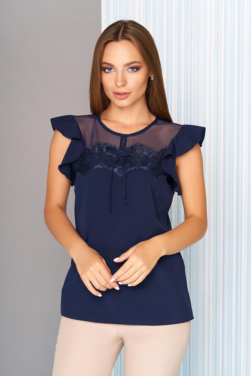 Нарядная женская блуза (3 цвета)