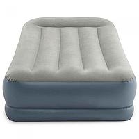 Кровать надувная велюр  INTEX