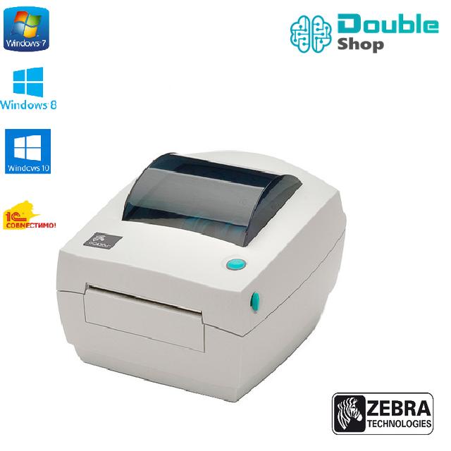 Оригинал Zebra GC420D USB COM принтер этикеток и чеков до 104 мм Япония