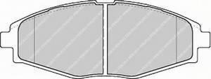 Тормозные колодки передние Ланос R13, FERODO, FDB1337