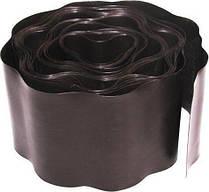 Бордюр газонный (коричневый) 15см*9м Verano