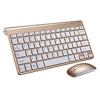 Беспроводная мини клавиатура + мышка Apple 908, фото 1
