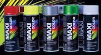 Аэрозольные краски Maxi color