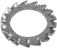 Стопорно-клиновая шайба  Washer-lock serrated int.ext.M6