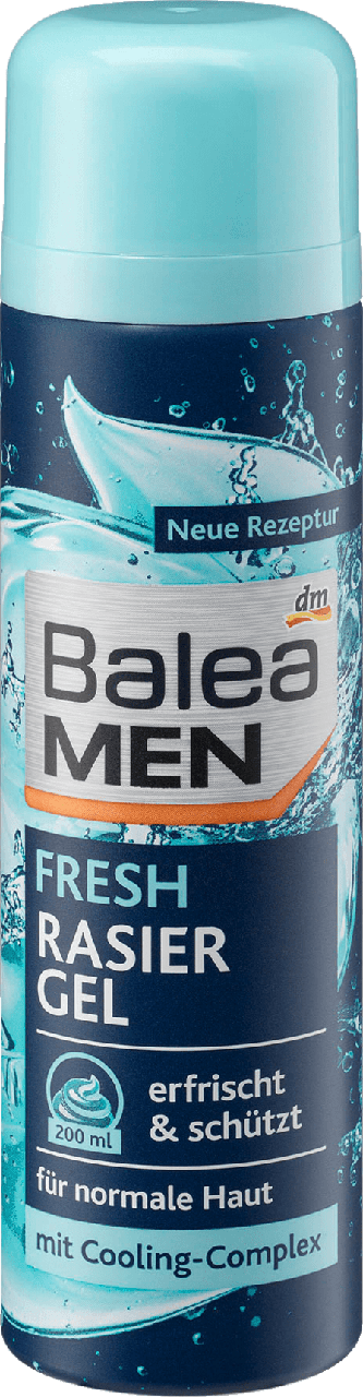 Гель для бритья Balea Men Fresh, 200 ml.