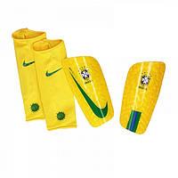 Футбольные щитки Nike Mercurial Lite Brasil CBF