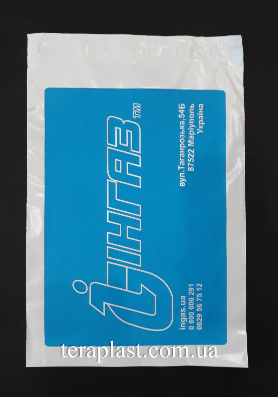 Курьерский пакет 240х320+40 с логотипом в 1 цвет