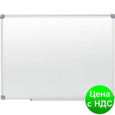 Доска магн. для письма маркером JOBMAX, 45х60см, ал. рамка BM.0001, фото 2