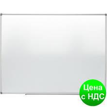 Доска магн. для письма маркером JOBMAX, 90х120см, ал. рамка BM.0003