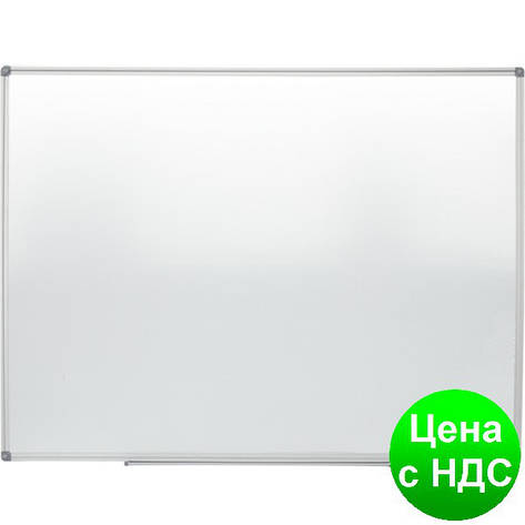 Доска магн. для письма маркером JOBMAX, 90х120см, ал. рамка BM.0003, фото 2