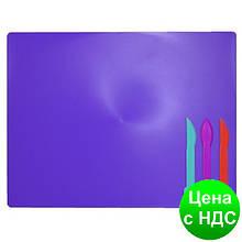 Дощечка для пластилина, 3 стека, фиолетовый ZB.6910-07