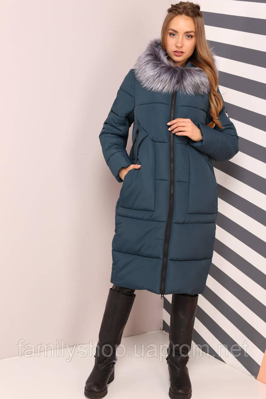 116848500bb Зимнее женское пальто с капюшоном Дамиана Нью вери (Nui Very) -  Интернет-магазин