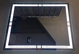 Зеркало для ванной комнаты с LED подсветкой влагостойкое 900 х 700