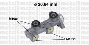 Головний гальмівний циліндр Ланос, METELLI, 05-0507