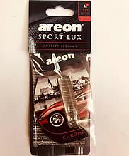 Ароматизатор капсула листочек Areon Sport Lux chrom