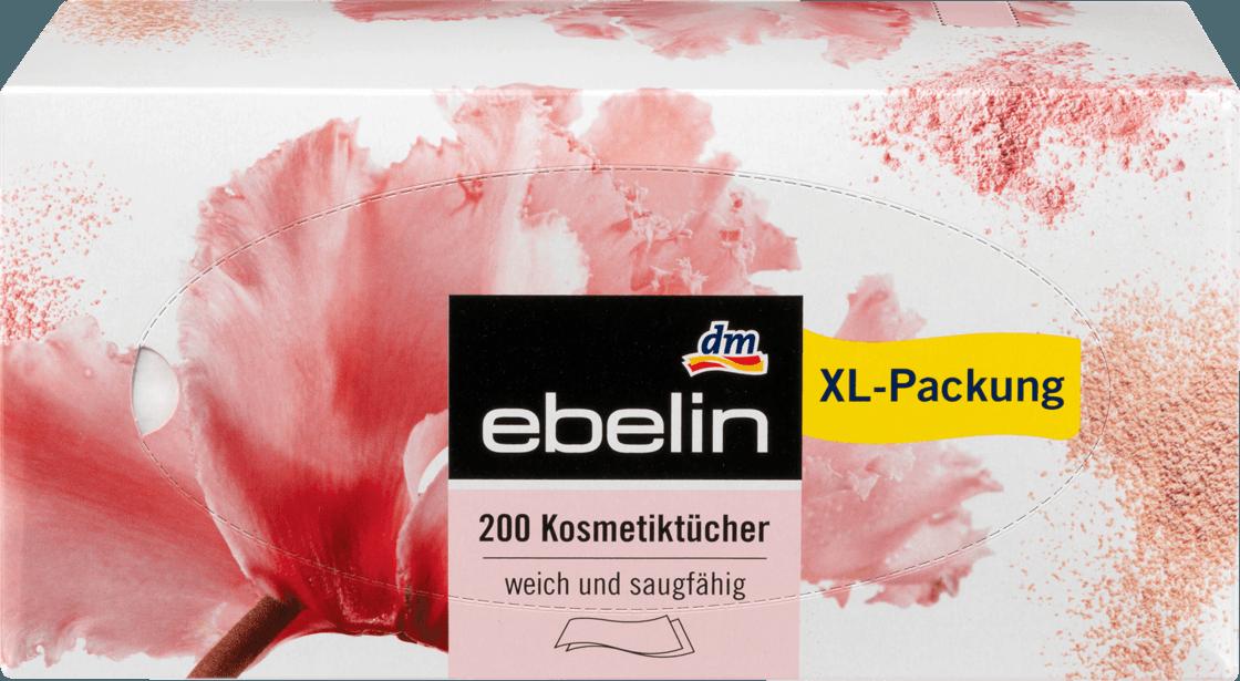 Косметические бумажные салфетки Ebelin, 200 шт.