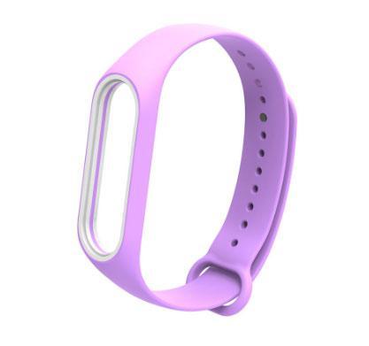 Силіконовий ремінець Primo для фітнес-браслета Xiaomi Mi Band 3 - Purple