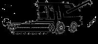 Прокладка картера межосевого дифференциала КАМАЗ 5320-2506115 (паронит 0,6) Автопрокладка