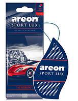 Ароматизатор сухой листочек Areon Sport Lux carbon