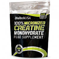 Biotech nutrition 100% Creatine Monohydrate 500 g.