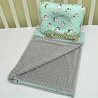 Комплект в коляску для новорожденных - 02