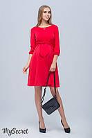 Платье для беременных и кормящих GLORIA, красное*, фото 1