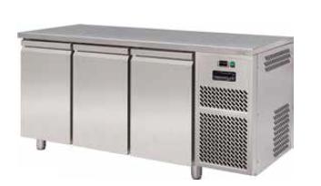 Стіл холодильний FREEZERLINE ECT603 ,без борту, 2 двері