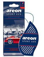 Ароматизатор сухой листочек Areon Sport Lux chrom