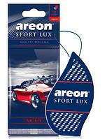 Ароматизатор сухой листочек Areon Sport Lux nicel
