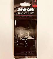 Ароматизатор сухой листочек Areon Sport Lux platinum