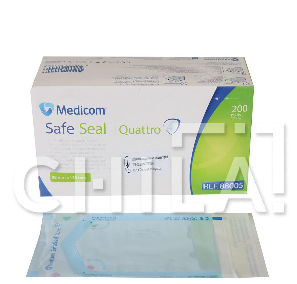 Пакеты для стерилизации 89 x 133мм (200 шт/уп)