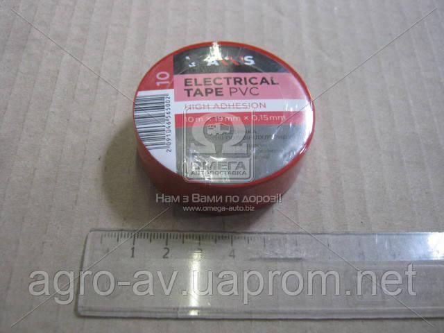 Изолента красная 19mm*10  (ET-912 R)