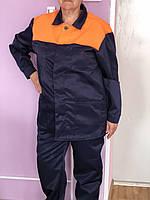 Костюм рабочий мужской. Спец одежда. Куртка и полукомбинезон. Демисезонный. Все размеры