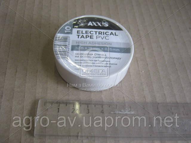 Изолента белая 19mm*10  (ET-912 W)
