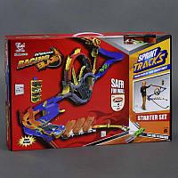 Автотрек настенный ML 32462 (12) машинки 2 шт, в коробке