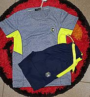 Модный костюм шорты из плащевки для мальчика 4 года
