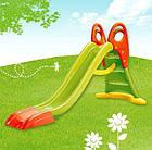 Горка детская пластиковая Smoby 230 см спуск для детей, фото 3