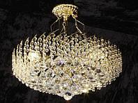 Люстра хрустальная AR-004376 потолочная на 9 ламп, фото 1