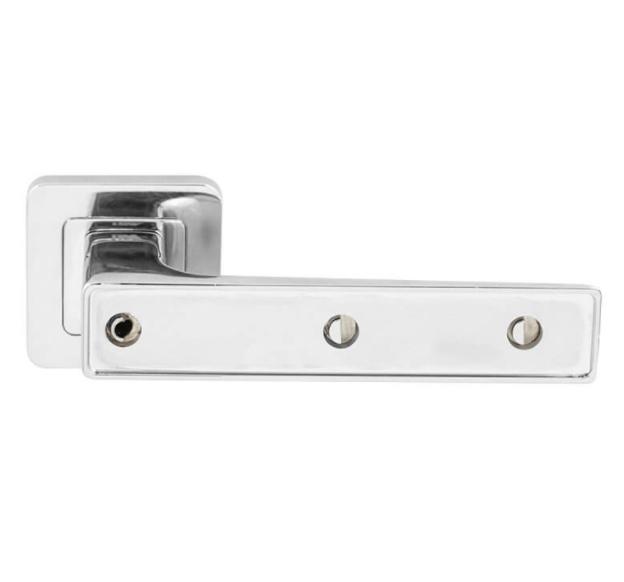 Ручка дверна на розетці RDА Insert хром